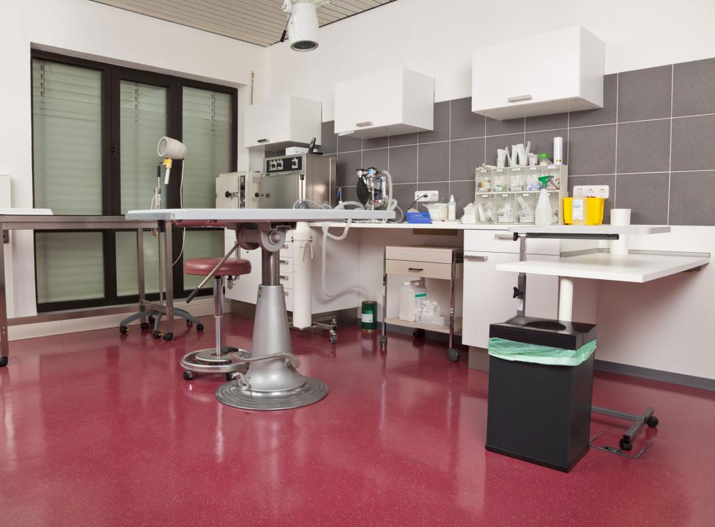 Reinigung von Operationssälen
